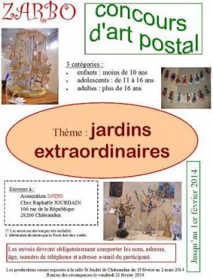 Concours d'art postal - Zarbo