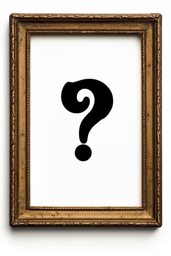 Tableau - Cadre - Peinture - Toile - Mystère - Question