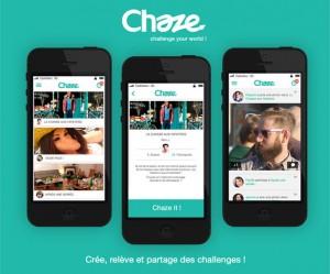 Chaze - Challenge your world !