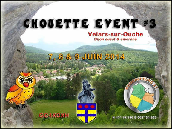 Chouette Event Geocaching
