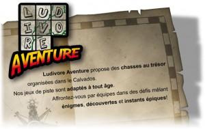 Ludivore Aventure : Chasses au trésor en Calvados