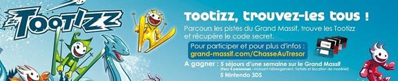 Tootizz - Chasse au trésor du Grand Massif
