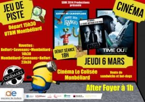 Jeu de piste et cinéma à Montbéliard