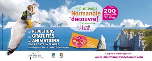 Au Printemps la Normandie se découvre !