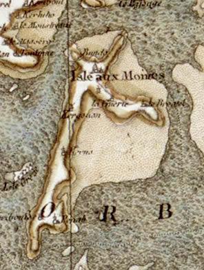 Carte - Ile-aux-Moines