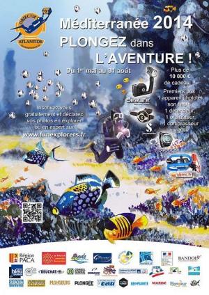 Chasse au trésor sous-marine naturaliste 2014