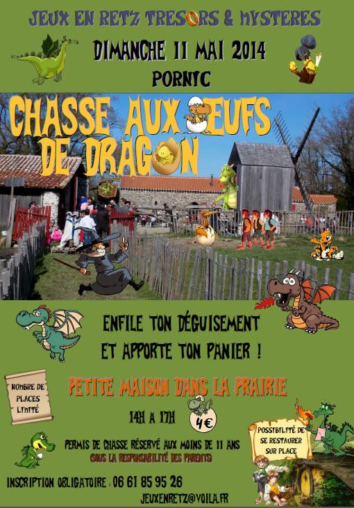 JRTM : Chasse aux oeufs de dragons - 2014