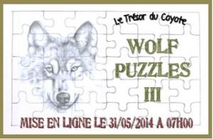 Le trésor du Coyote - Wolf Puzzles III