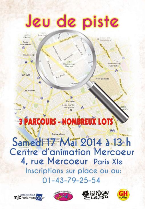 Jeu de piste dans le 11e arrondissement de Paris