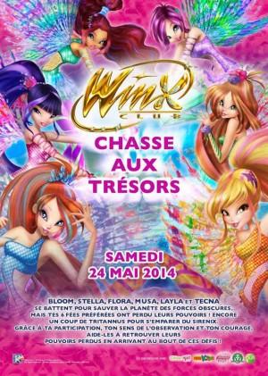 Chasse aux trésors Winx