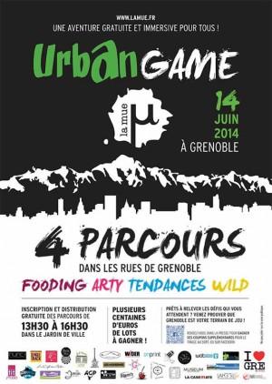 Urban Game à Grenoble - La mue