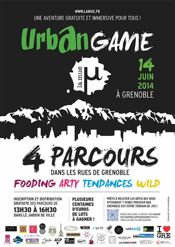 Urban Game à Grenoble - La mue