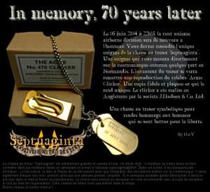 Septuaginta - La chasse au trésor