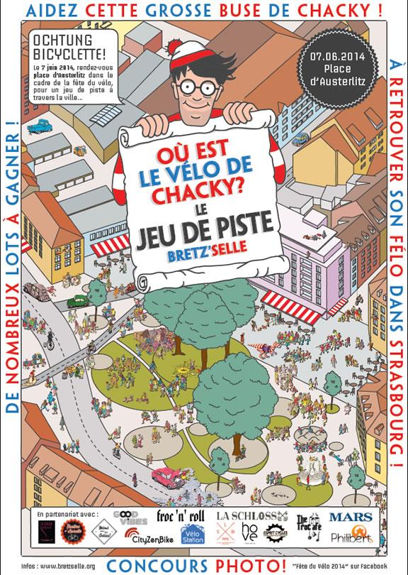 Strasbourg : à la recherche du vélo de Chacky