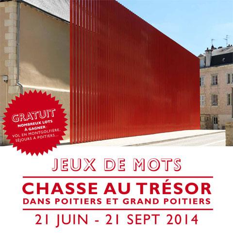 Poitiers : chasse au trésor 2014
