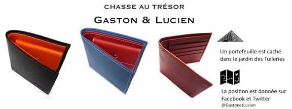 la chasse au trésor Gaston & Lucien