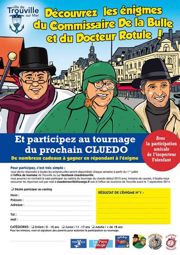 Cluedo - Trouville-sur-Mer - 2014