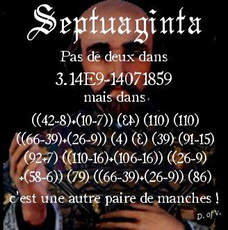 1-10-e - Un dernier indice ? Septuaginta - La chasse au trésor