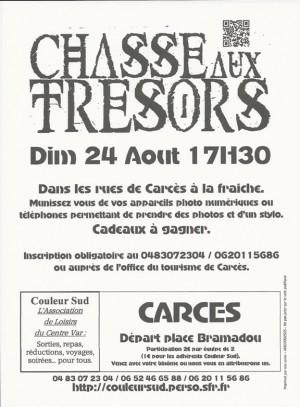Couleur Sud : chasse aux trésors à Carcès