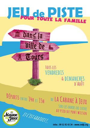 La Maison des Jeux de Touraine propose un jeu de piste familial