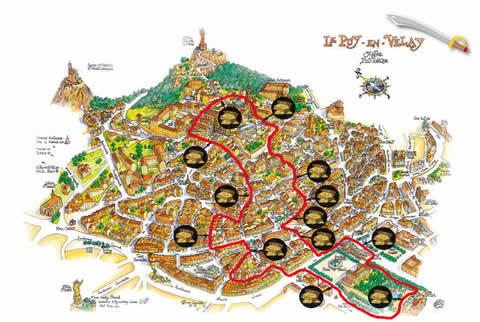 Chasse au trésor au Puy-en-Velay