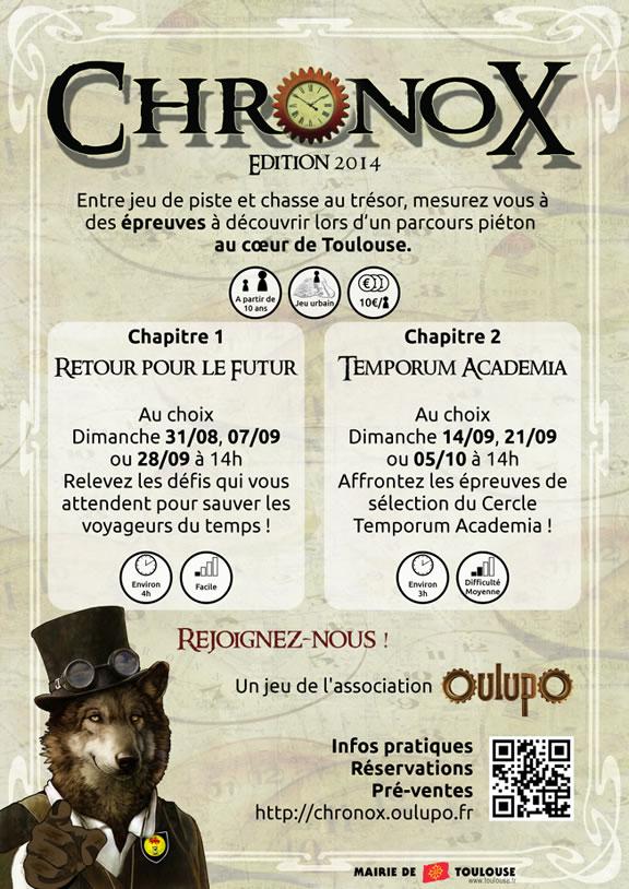 Chronox 2014 - OULUPO
