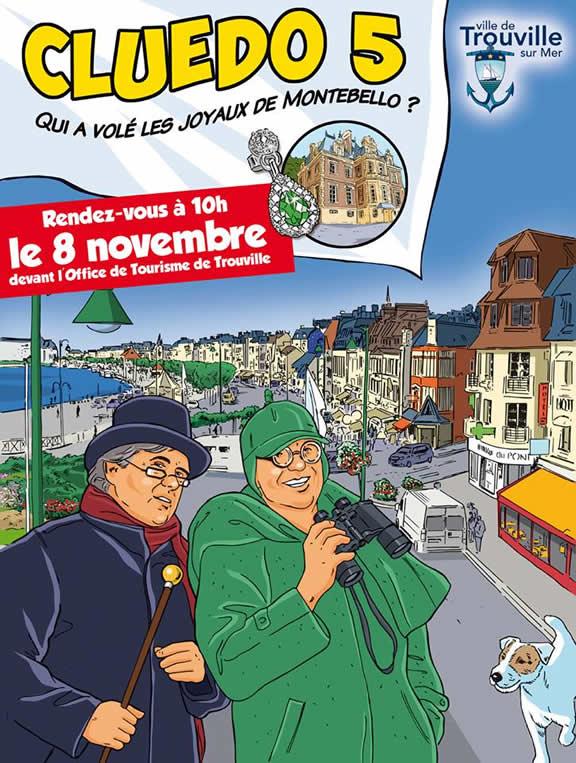 Trouville-sur-Mer : Cluedo 2014 - Qui a volé les joyaux de Montebello ?