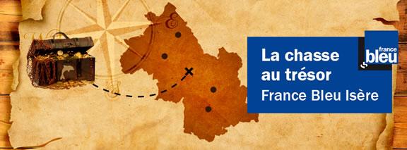 La chasse au trésor France Bleu Isère