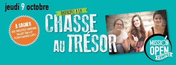 Mission Open Campus - Chasse au trésor - Cergy Pontoise