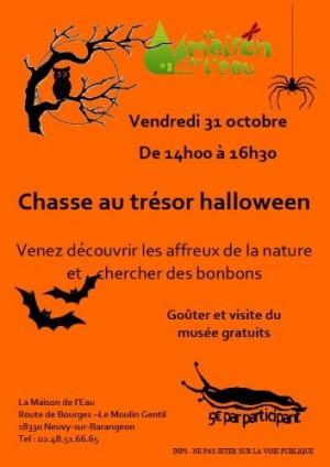 Chasse au trésor Halloween - Neuvy-sur-Barangeon
