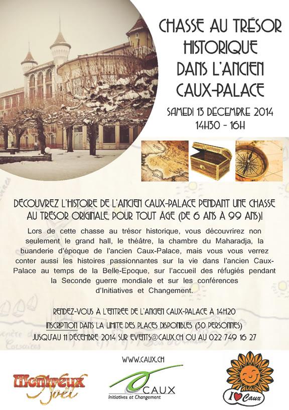 Chasse au trésor historique dans l'ancien Caux-Palace