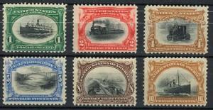 Gagnez une série de timbres US de l'Exposition de Buffalo en 1901 avec les Grands Concours Delcampe
