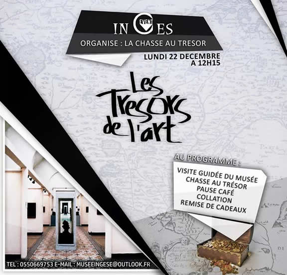 Chasse aux trésors au Musée des Beaux Arts d'Alger