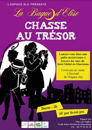 La bague d'Élise : chasse au trésor - Saint-Michel-de-Maurienne