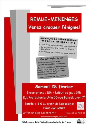 Remue-méninges - Lyon