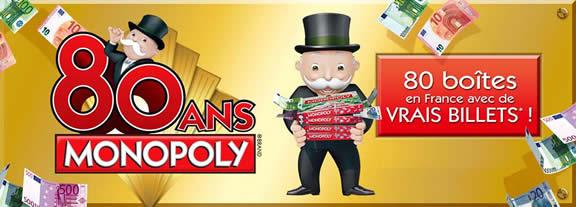 Les 80 ans du Monopoly