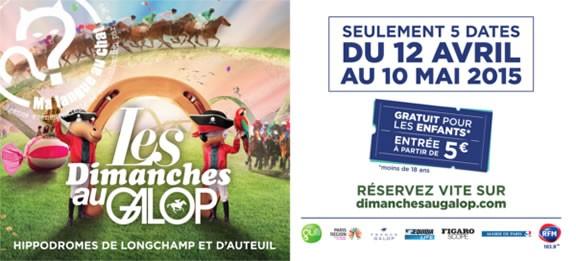 DImanche aux courses - Chasses au trésor sur les hippodromes de Longchamp et d'Auteuil