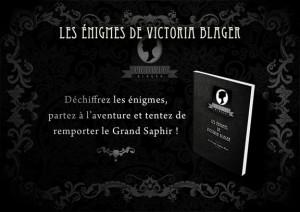 Les énigme de Victoria Blager