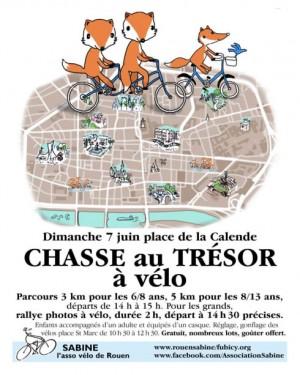 Rouen - Chasses au trésor à vélo
