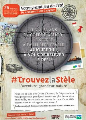 Trouvez la Stèle - Côtes d'Armor