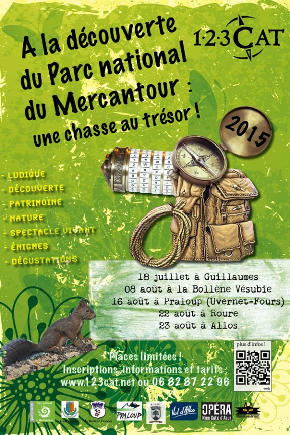 Chasses au trésor - Parc du Mercantour - 123 CAT