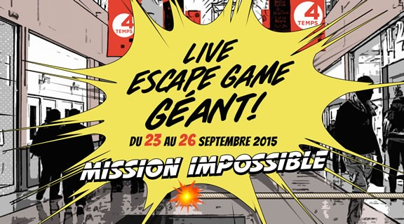 Live Escape Game géant à Paris