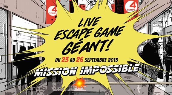 Live Escape Game géant à Paris