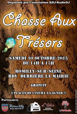 Chasse aux trésors à Romilly-sur-Seine