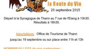 Chasse au Trésor à Thann : Devin, sur la route du vin