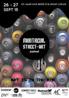 Festival de Street Art et jeu de piste à Montreuil