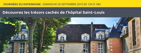 Chasse au trésor à l'hôpital Saint-Louis