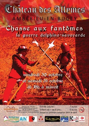 Le Château des Allymes propose l'édition 2015 de sa chasse aux fantômes