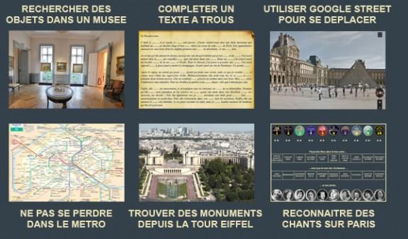 12 énigmes au coeur de Paris