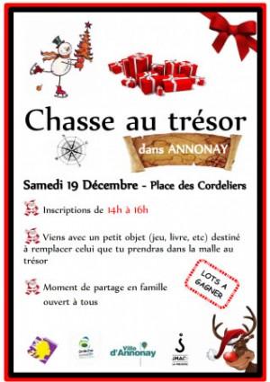 Chasse au trésor à Annonay
